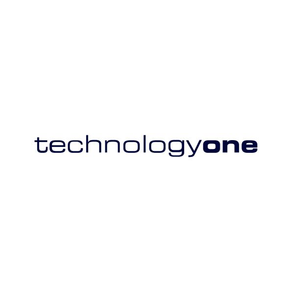 TechnologyOne White Logo