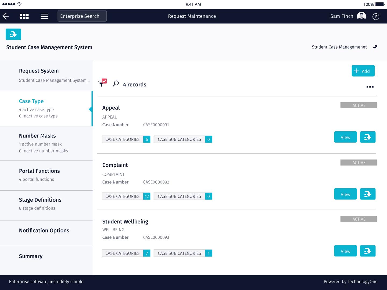 2019B Release - Case Management - TechnologyOne