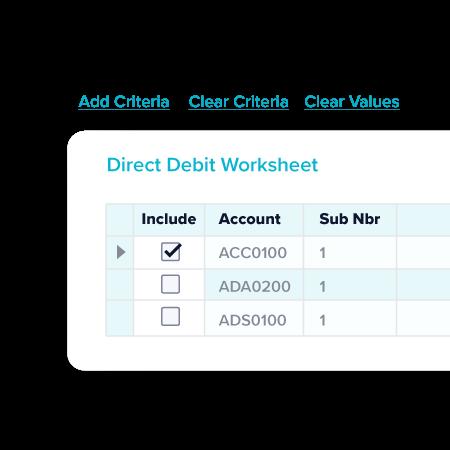 Direct Debit TechnologyOne